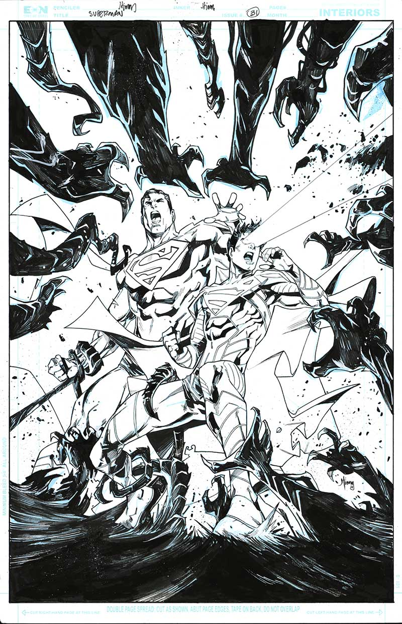 Superman #31 Cover by John Timms