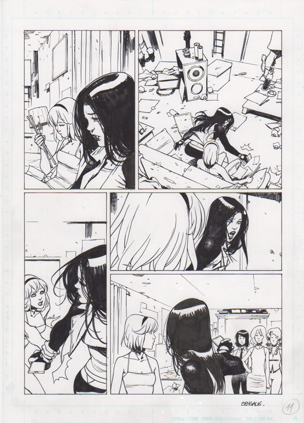 Spider-Gwen #7 p.11 by Bengal