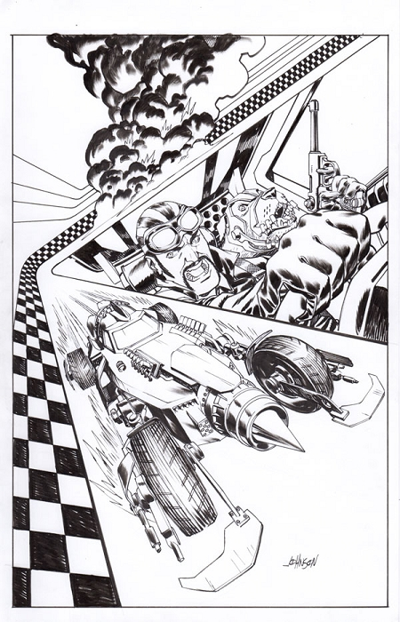 Wacky Racers #1 Cover by Dave Johnson