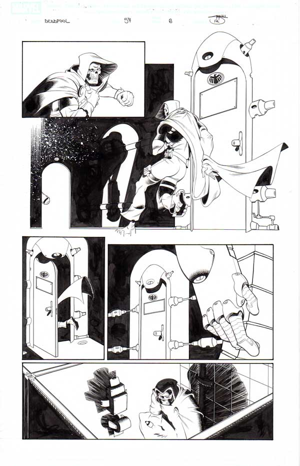 Deadpool Issue 57 p.06 by Shawn Crystal