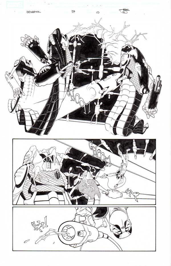 Deadpool Issue 57 p.10 by Shawn Crystal