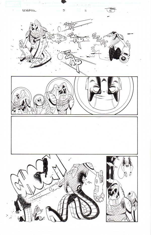 Deadpool Issue 57 p.11 by Shawn Crystal