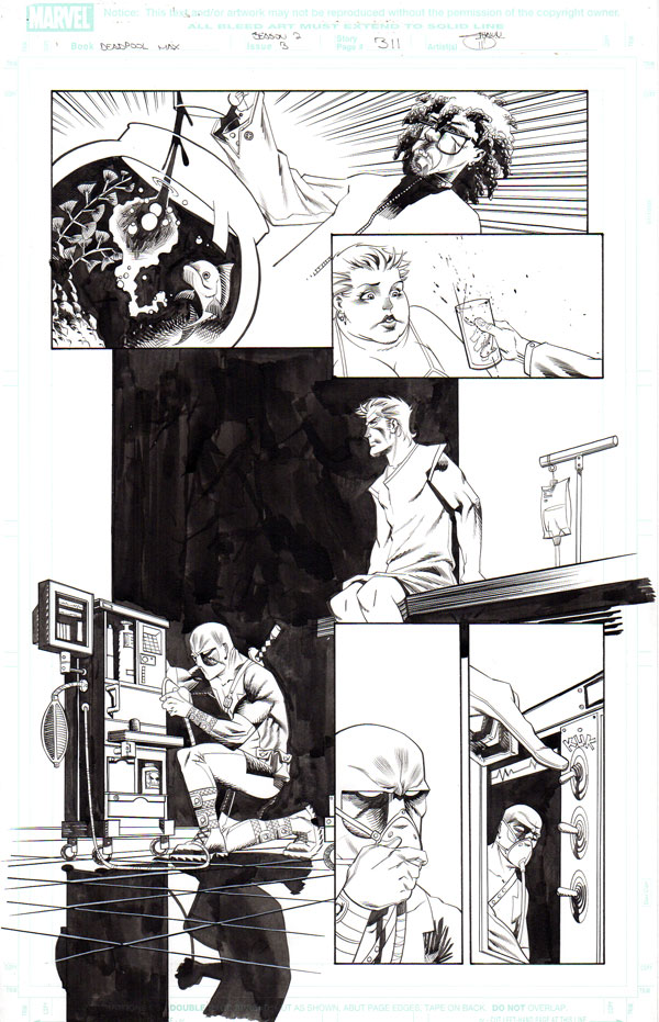 Deadpool Max: Issue 3 p.12 by Shawn Crystal