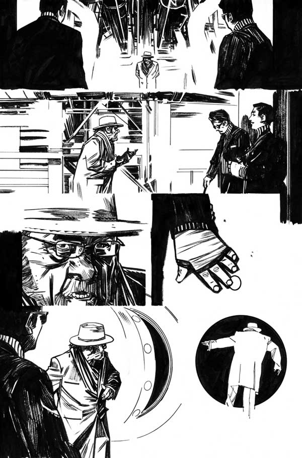 Mother Panic #1 page 18 by Tommy Lee Edwards