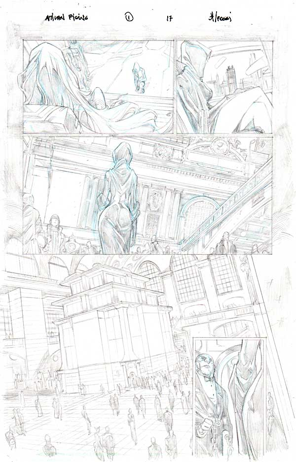 Inhumans: Attilan Rising Issue 1 p.17 by John Timms
