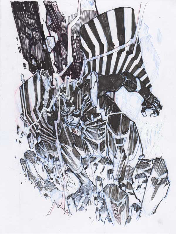 Black Bolt by Eric Canete