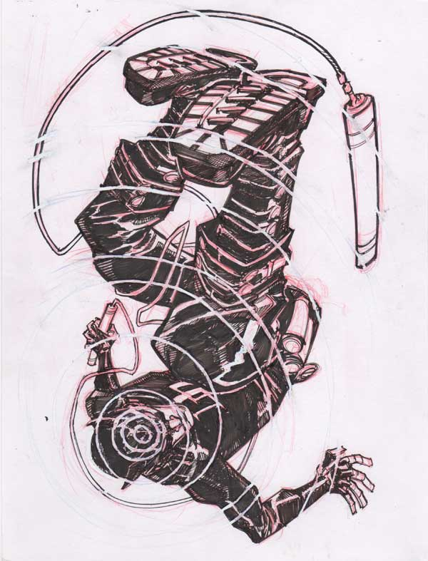 Daredevil by Eric Canete
