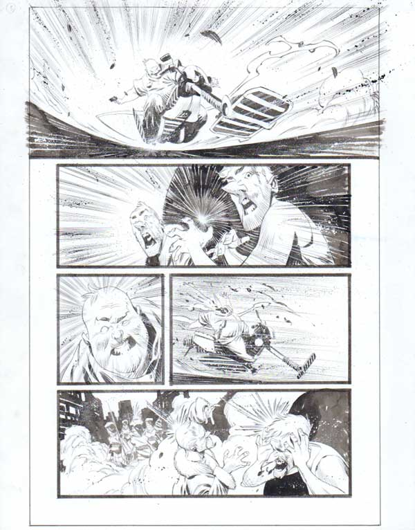 Black Science Issue 30 Page 05 by Matteo Scalera