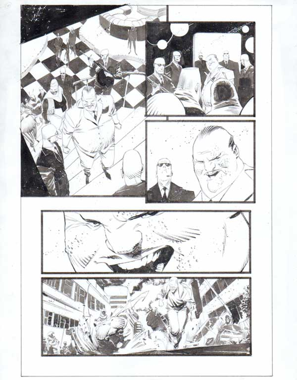 Black Science Issue 30 Page 10 by Matteo Scalera
