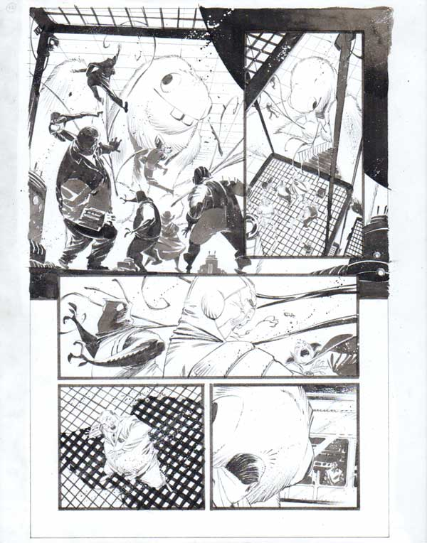 Black Science Issue 30 Page 17 by Matteo Scalera