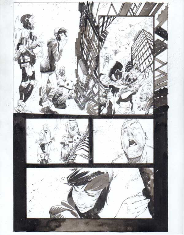 Black Science Issue 31 Page 15 by Matteo Scalera