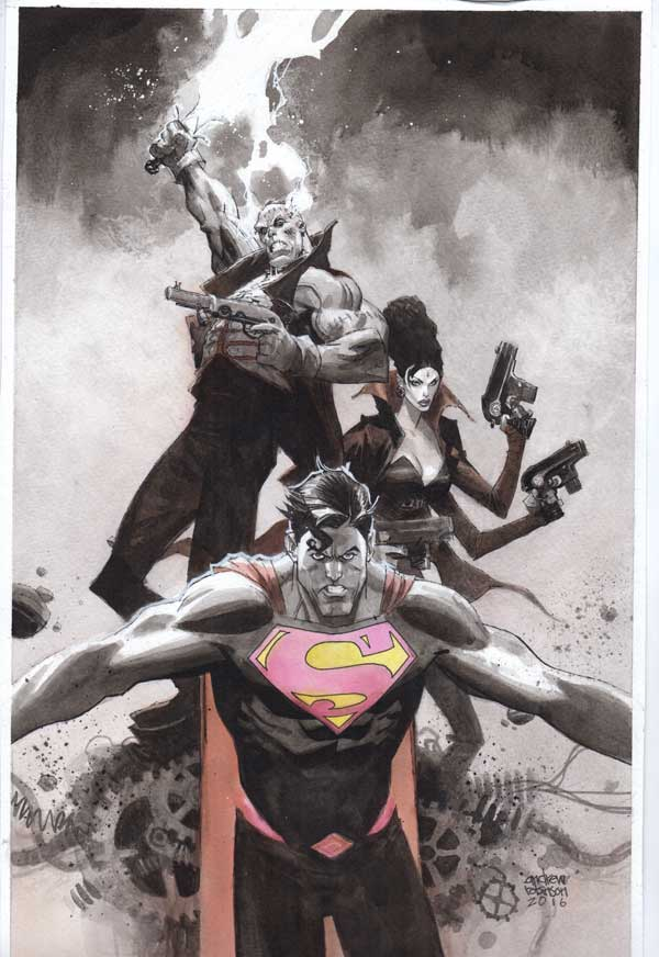 Superman #12 Cover by Andrew Robinson