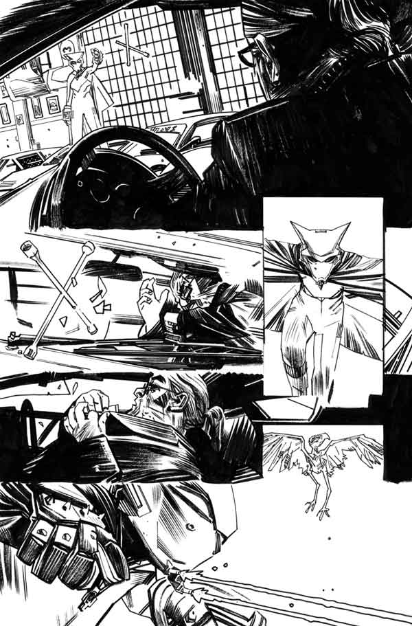Mother Panic #2 p.17 by Tommy Lee Edwards