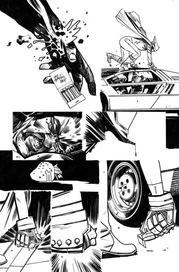 Mother Panic #2 p.18 by Tommy Lee Edwards