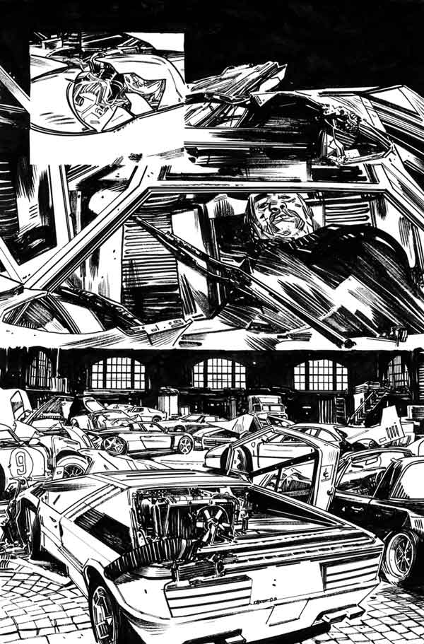 Mother Panic #2 p.20 by Tommy Lee Edwards