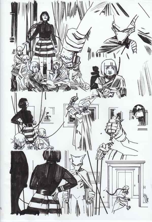 Mother Panic #3 p.11 by Tommy Lee Edwards