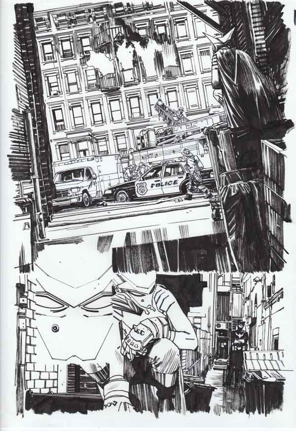 Mother Panic #3 p.16 by Tommy Lee Edwards