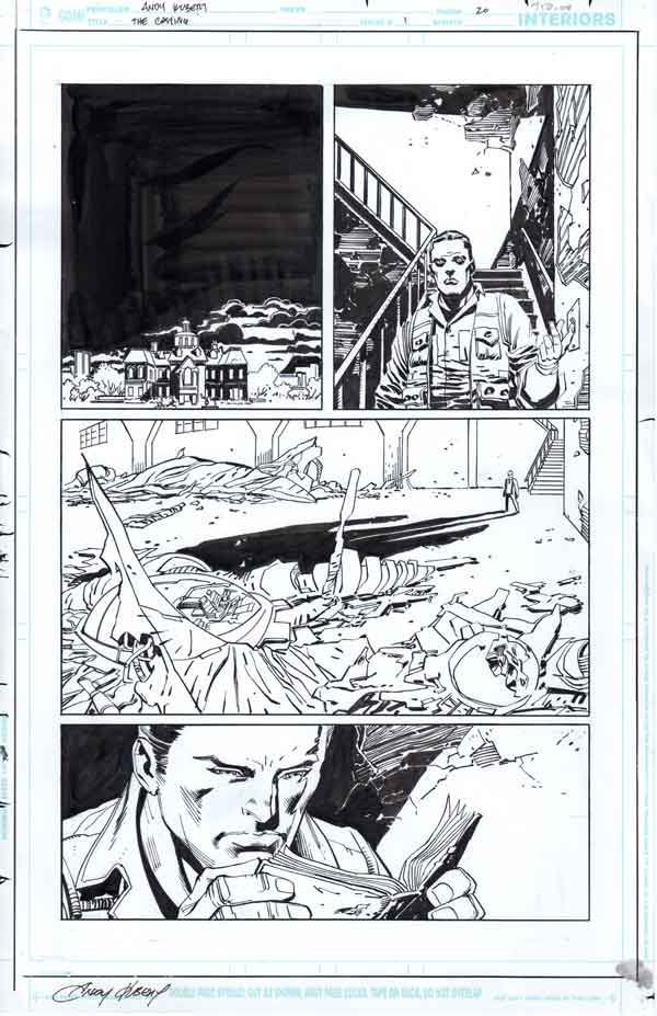 Dark Days: The Casting #1 p.20 by Klaus Janson