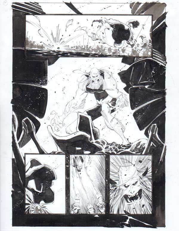 Black Science Issue 32 Page 17 by Matteo Scalera