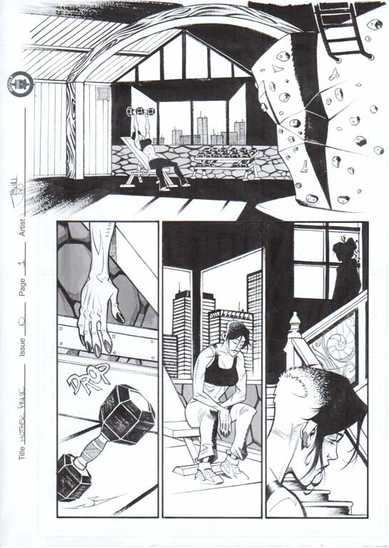 Mother Panic Issue 10 p.01 by Shawn Crystal