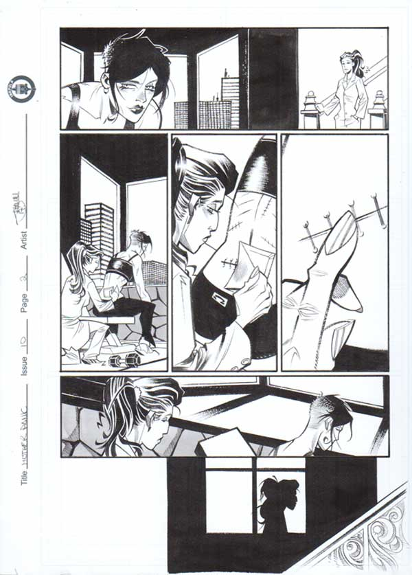 Mother Panic Issue 10 p.02 by Shawn Crystal