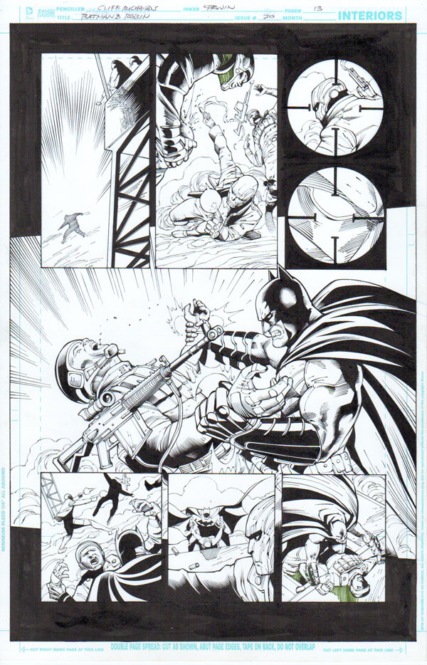 Batman & Robin 20/13 by Mark Irwin