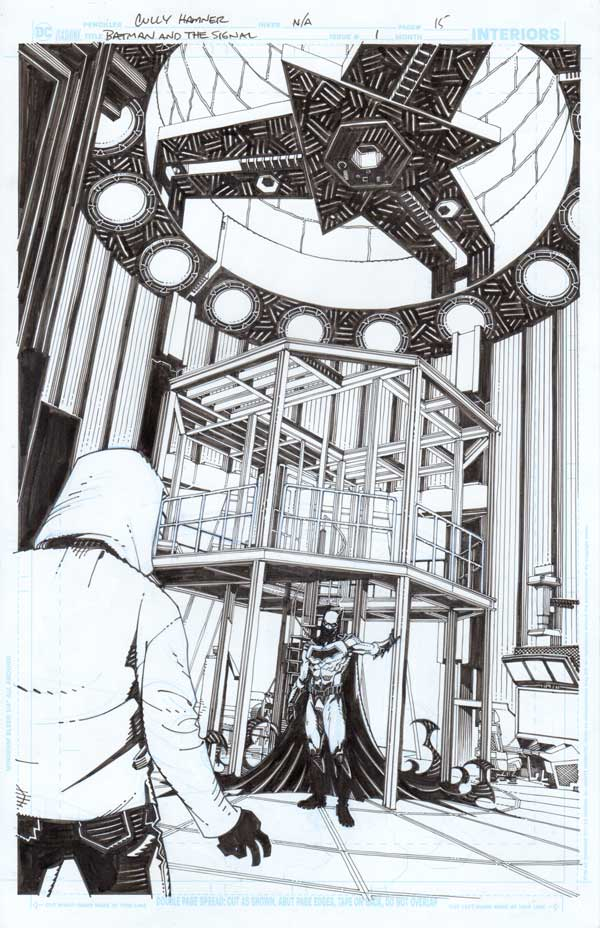 Batman & the Signal #1 p.15 by Cully Hamner
