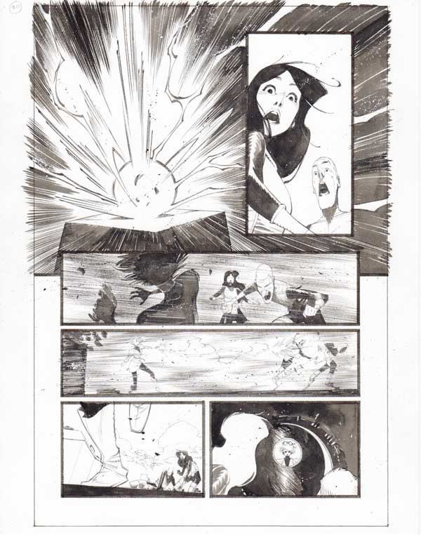 Black Science #35 p.20 by Matteo Scalera