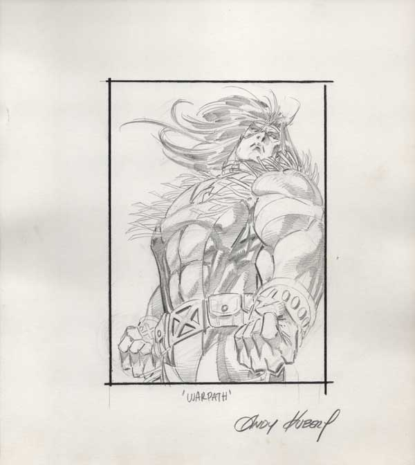Warpath Card Art by Andy Kubert