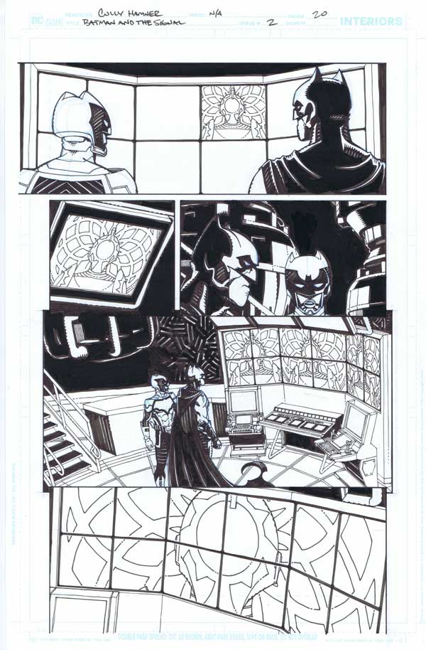 Batman & the Signal #2 p.20 by Cully Hamner
