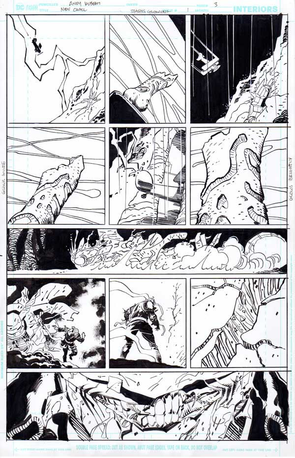 New Challengers #1 p.03 by Andy Kubert