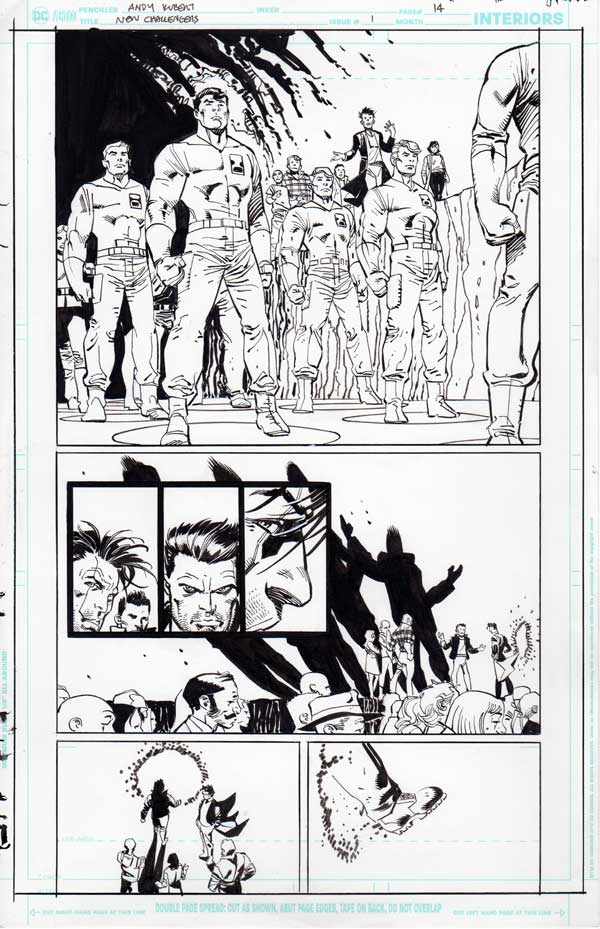 New Challengers #1 p.14 by Andy Kubert