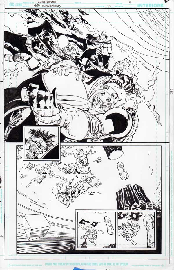 New Challengers #2 p.14 by Andy Kubert