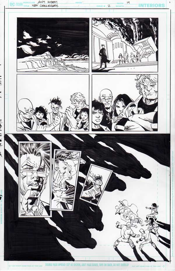 New Challengers #2 p.19 by Andy Kubert