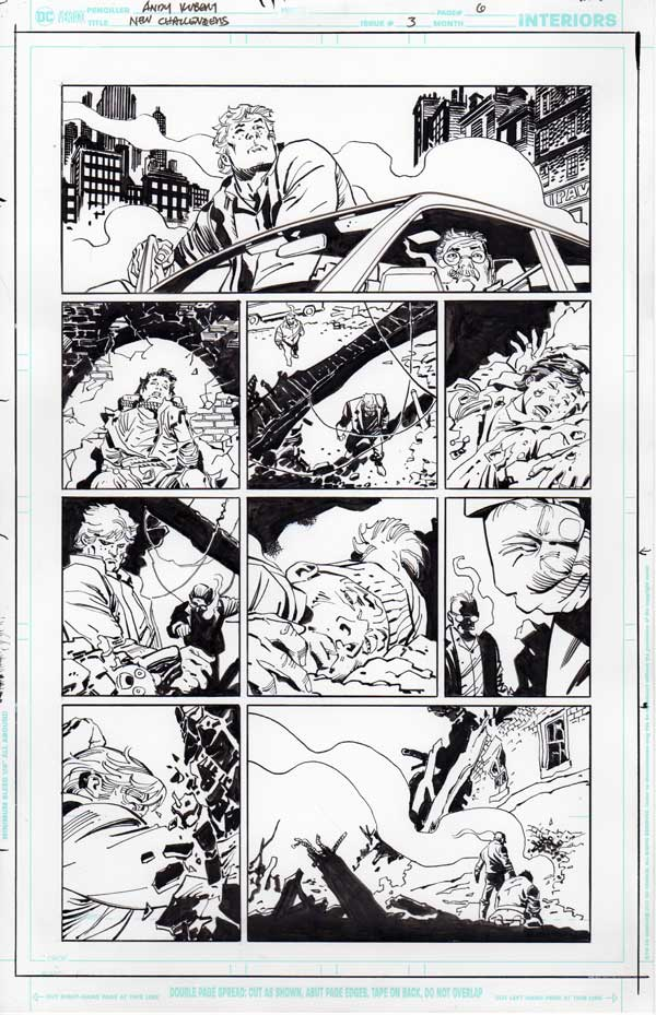 New Challengers #3 p.06 by Andy Kubert