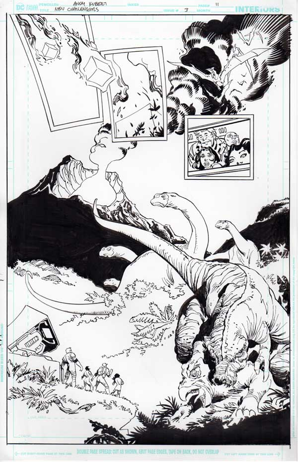 New Challengers #3 p.11 by Andy Kubert