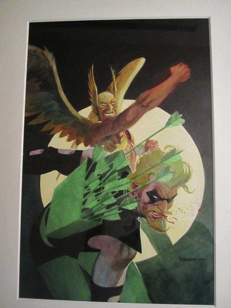 Hawkman #6 by Andrew Robinson