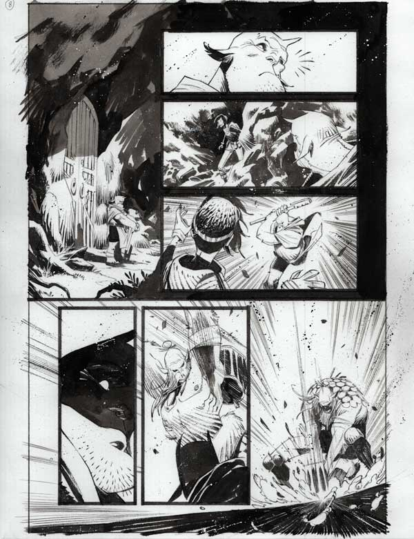 Black Science #40 p.08 by Matteo Scalera