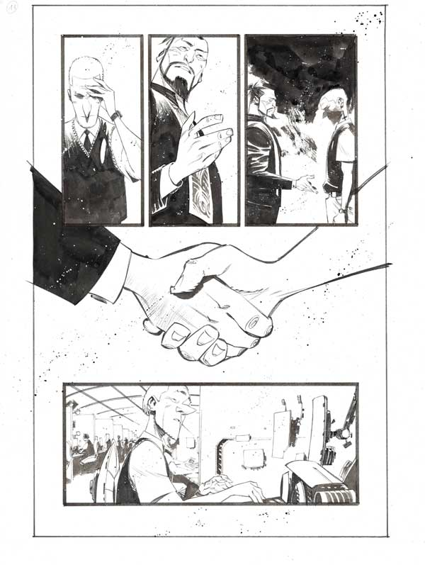 Black Science #42 p.11 by Matteo Scalera