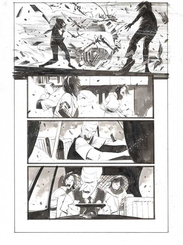 Black Science #42 p.17 by Matteo Scalera