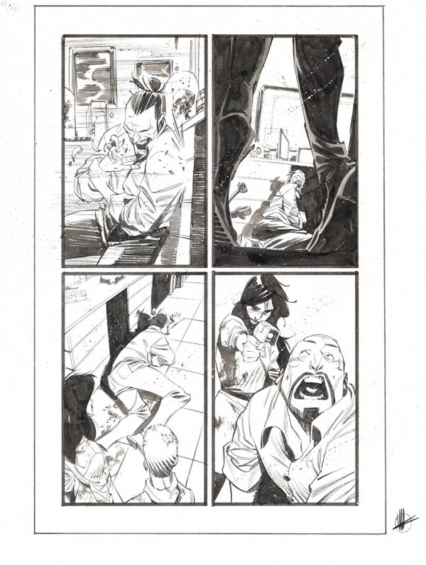 Black Science #43 p.25 by Matteo Scalera