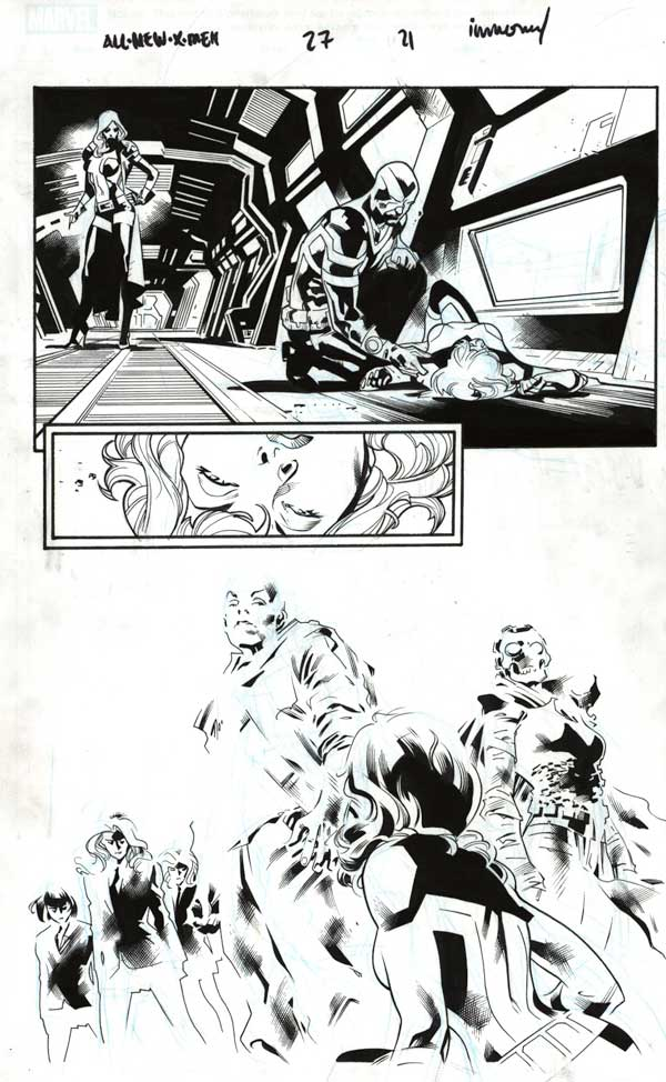 All-New X-Men #27 p.21  by Wade von Grawbadger