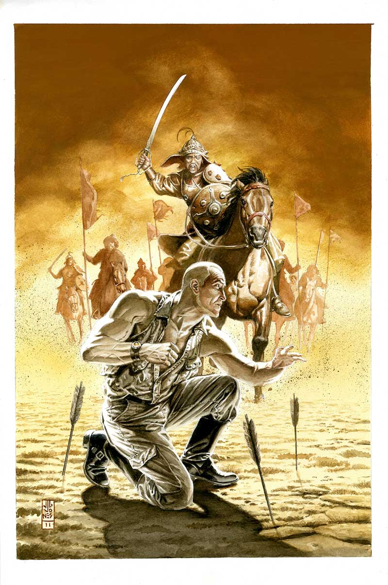 Doc Savage #17 Cover by JG Jones