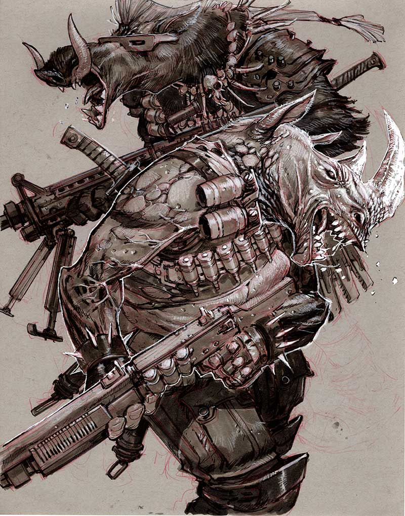 BeBop & RockSteady by Eric Canete