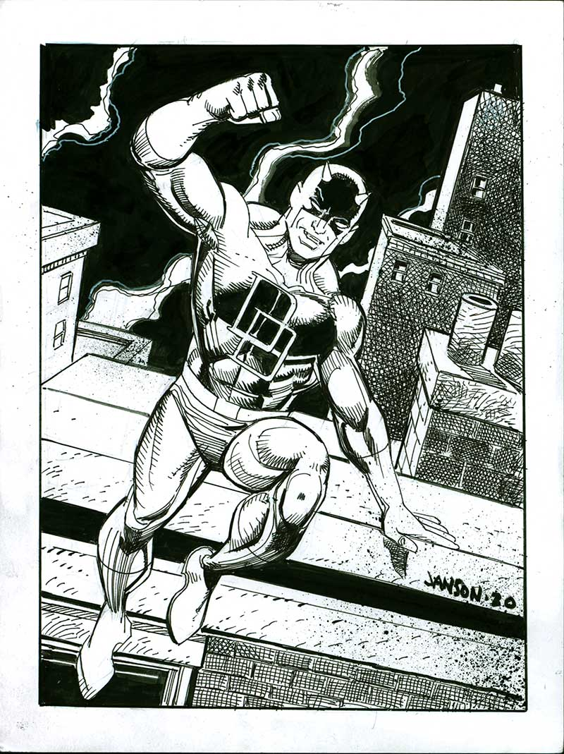 Daredevil Full by Klaus Janson