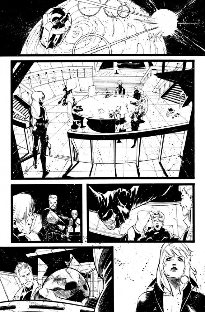 Secret Avengers 32/15 by Matteo Scalera
