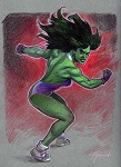 She-Hulk by Juanjo Guarnido