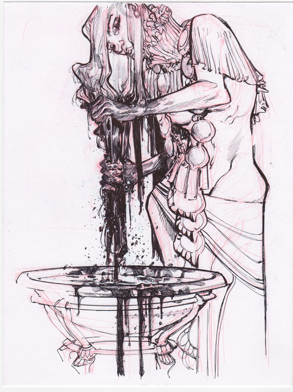 Hair Wash by Eric Canete