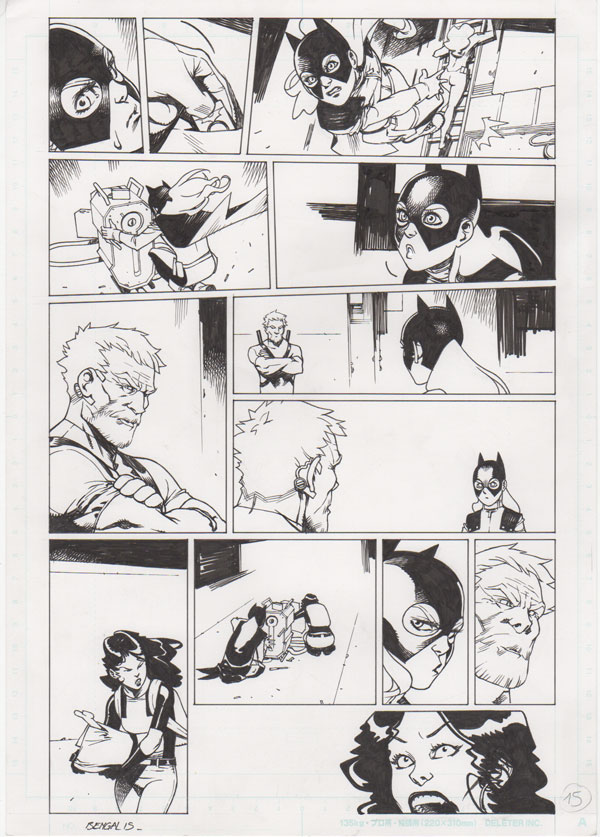 Batgirl Annual #3 p.15 by Bengal