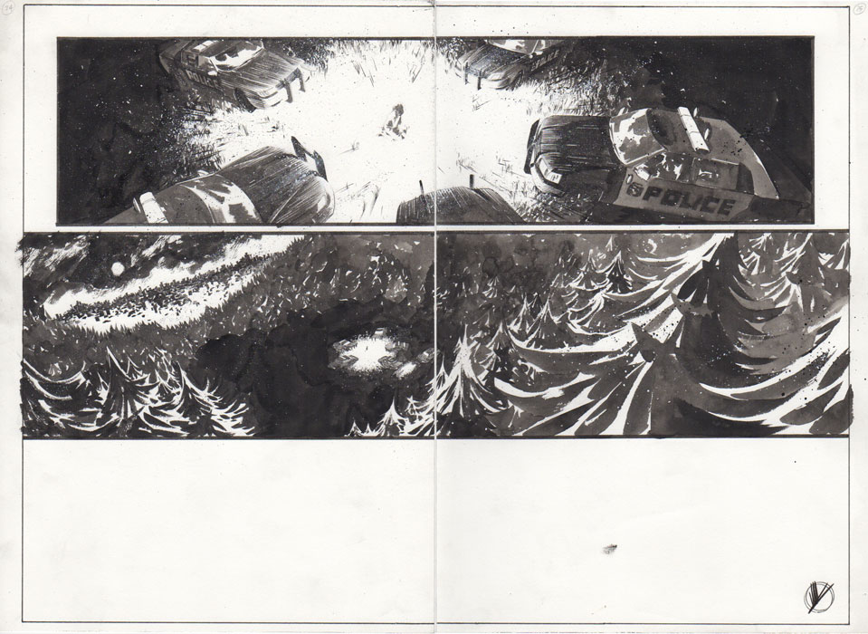 Black Science #21 p.24-25 by Matteo Scalera